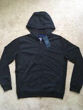 NEW North Sails Full Zip Stretch Hoodie Jacket w/ Pockets BLACK XL MSRP $175