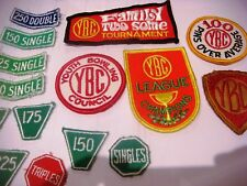 Embroidered Patches Vintage 15 X  Sew-on YOUTH BOWLING COUNCIL