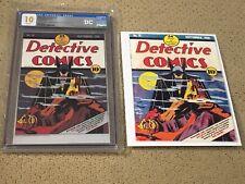 """Detective Comics 31 CGC 10 """"Gem Mint"""" White Pages Silver + print + magnet"""