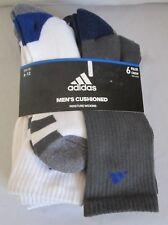 Adidas Cushioned Crew Men Sock size  6 - 12