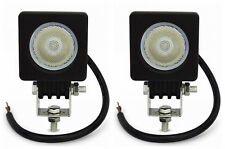 2x 10W CREE LED Work Light Flood offroad 4X4 car Truck ATV Motorcycle Fog lamps