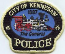 KENNESAW GEORGIA GA train POLICE PATCH