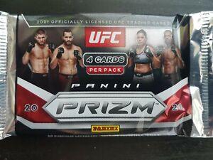 Panini Prizm Ufc Blaster Box Pack New Sealed