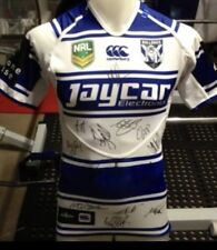 Game Players Team Signed Canterbury Bulldogs Heritage Jersey 2013