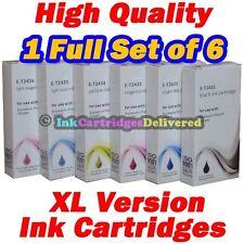 6 HQ Ink Cartridges 24XL for EPSON XP-55 XP-760 XP-860 XP-960 T2438 1Set Non-OEM