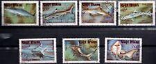1991 Viet Nam. Fish. SHARKS. Sc.2236-2242. CTO