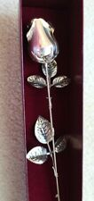 Sterling Silver Rose - 15 inches - Mother's Day