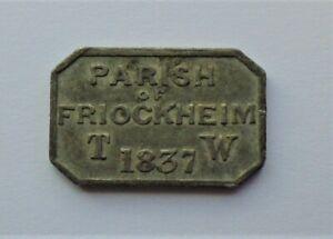 1837,Friockham,(Angus),Communion Token,