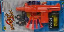 Toy gun target game kid play set safe color pistol +4 Darts+12 Ammo +2 Targets