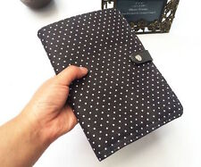 Thirty one Double Up Clutch purse bag wallet 31 gift CITY CHARCOAL SWISS DOT