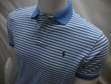 Ralph Lauren Polo Mens Striped Shirt Sz L Custom fit Button Front NWT Large