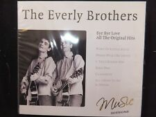 CD THE EVERLY BROTHERS / BYE BYE LOVE / ALL THE ORIGINAL HITS /