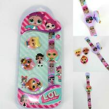 Girls Flip Top Digital Surprise L.O.L.Wrist Watch Interchangeable Character gift