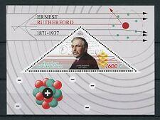 Ivory Coast 2016 MNH Ernest Rutherford 1v S/S Physics Science Stamps