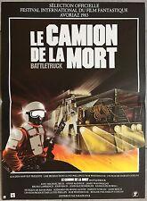 Affiche LE CAMION DE LA MORT Warlords of the 21st Century MICHAEL BECK 40x60cm *