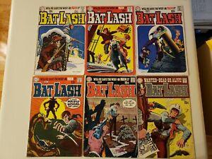 Bat Lash. DC. 1969 (Lot of 6 books) Low/Mid grade Silver Age Comics #2,3,4,5,6,7