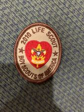 2010 Life Scout Patch BSA