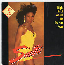 """Sinitta - Right Back Where We Started From 7"""" Sgl 1989"""