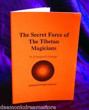 THE SECRET FORCE OF TIBETAN MAGICIANS  Finbarr Occult.  Magick Grimoire