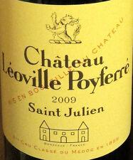 1bt Chateau Leoville Poyferre 2009 100/100 PARKER
