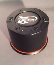 NEW PRO COMP XTREME ALLOYS Custom Wheel Hub Black Center Cap 8327041