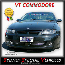 VT COMMODORE SS MONARO BLACK PROJECTOR HEADLIGHTS HSV SEDAN WAGON UTE WH