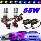 2pcs 55W HID Xenon Conversion Headlight KIT Bulb+Ballast H1 H3 H4 H7 H8 H9 H11