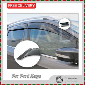 Premium Weathershields Weather Shields Window Visor for Ford Kuga TF 13-16