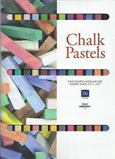CHALK PASTELS 36 COLORS! ~ PASTEL SET ~ FREE SHIPPING!