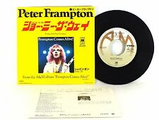 """PETER FRAMPTON """"Show Me The Way"""" EX/EX JAPAN 7"""" SINGLE w/ PICTURE SLEEVE"""
