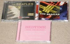 3 The Beatles related CD lot.Bedtime With-Pink Cover. Solo Piano. Jazz Tribute.