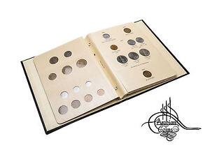 Algeria 1949-1989 Coin Album 1950 1952 1956 1964 1970 1971 1972 1973 1974 1975