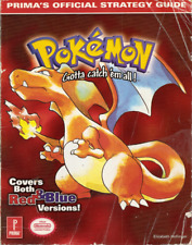 Pokemon Red and Blue Official Strategy Game Guide PDF Nintendo Players Guide