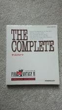 Final Fantasy VI The Complete Strategy Guide - Nintendo Super Famicom - Japanese
