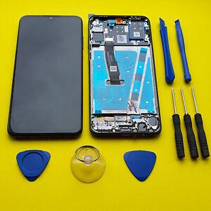 OEM Original Huawei P30 Lite Frame LCD Display Touch Screen Digitizer Black 48mp