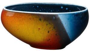 Poole Pottery Flare Asymmetrical decorative bowl, 18.5cm