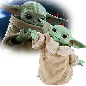 Baby Yoda 8CM Action Figure Toy Wakes Master The Mandalorian Force Stuffed Gifts