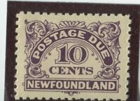 Newfoundland Stamps #J6 MINT,NH,VF (G7751N)