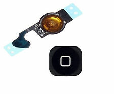 iphone 5 5G Outside Menu Button + internal Home Flex Cable Ribbon Black UK