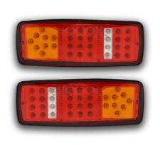 2 ITEMS 12V 33 LEDs REAR LAMPS TAIL LIGHTS FOR LORRY CAMPER TRUCK VAN MOTORHOME