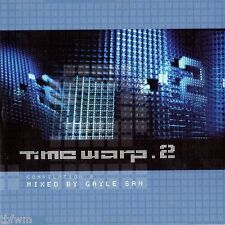 Time Warp 2 - Gayle San - CD MIXED - TECHNO