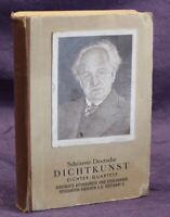 Ass Dichter- Quartett 36 Karten komplett mit Begleitwort um 1935 vollständig js