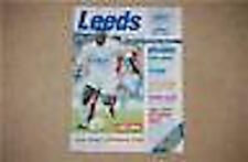 Leeds v Nottingham Forest Programme 8 Apr 1996