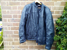 HARLEY DAVIDSON FXRG LEATHER MOTORCYCLE JACKET AND LINER