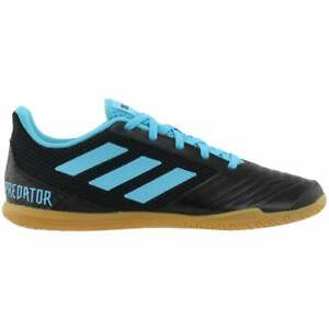 adidas Predator 19.4 Sala   Mens Soccer Cleats   Indoor  - Black,Blue - Size 6.5
