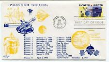 1975 Pioneer Series Mountain View Jupiter First Day Issue SPACE NASA USA SAT