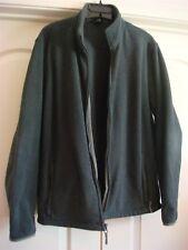 Lands' End - Women's Fleece Jacket - Grey L (42-44) Therma Check