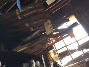 Studebaker Commander, 1947,  exhaust pipe, 519789.    Item:  6407
