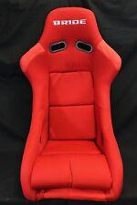 BRIDE ZETA RED CLOTH BLACK FRP HONDA ACURA PAIR SEATS