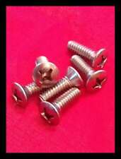 SIX 1950's Chrysler Desoto Dodge Hemi Engine Spark Plug Wire Cover Screws - NEW